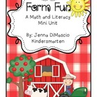 Farm Fun Mini Unit {Literacy and Math}