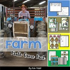 Farm Math Game Pack