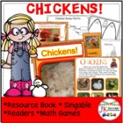 Farm Shared Reading Book & Game-Two Eggs & Two Eggs {CCSS}