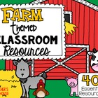 Farm Theme Pack from Teacher's Clubhouse