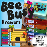 Fast Finishers Activities - Bee Busy Drawers