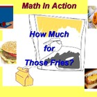 Fast Food Restaurant: The Algebra Lab Manual