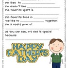 Father's Day Interview Questions, Questionnaire, and more!