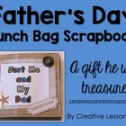 Father's Day Lunch Bag Scrapbook