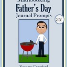 Father's Day Mathbooking - Math Journal Prompts (2nd & 3rd grade)