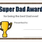 Father's Day Mini Activity Pack