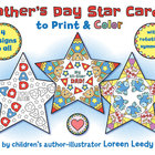 Father's Day Star Cards with Rotational Symmetry