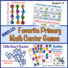Favorite Primary Math Center Games Bundled!
