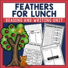 Feathers for Lunch Guided Reading Unit by Lois Ehlert Cat theme