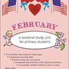 February 32-Page Thematic Lesson Plans Booklet