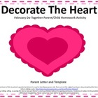 Valentine Do Together Parent/Child Homework Activity