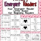February Emergent Readers - A Book for Each Week- Valentin