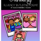 February Fluency Building Poems {Poetry Notebooks}