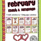 February Math & Language 2nd Grade