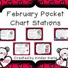 February Pocket Chart Station