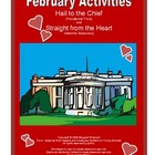 February  Presidents Day/Valentines Day Activities