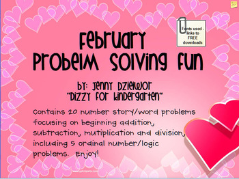 February Problem Solving for Promethean Board