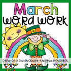March Word Work