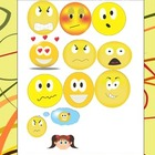 Feelings-My faces--clipart set1