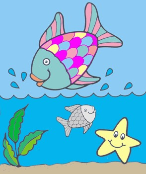 Feelings & Sharing Lesson using the book Rainbow Fish