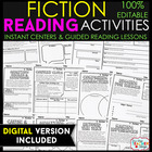 Fiction Activity Sheets } Literacy Centers and Guided Read