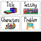 Fiction Retell Walk Mini Cards