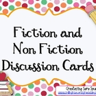 Fiction and Non-Fiction Discussion Cards