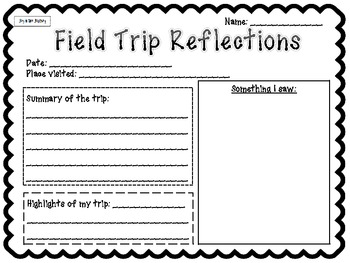 Field Trips: Important Forms to Keep You Organized