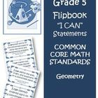 Fifth Grade Math Common Core Super Bundle I Can Statements