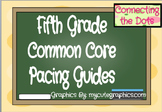 Fifth Grade Quarterly Pacing Guides- Editable