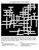Figurative Lang/Literary Terms (50) Crossword (50) Word Se