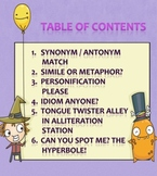 Figurative Language Games and Activities