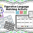 Figurative Language Matching Activity Pack