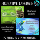 Figurative Language Mini Bundle PowerPoint - Test Prep - W