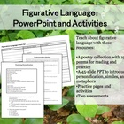 Figurative Language Powerpoint and Activities