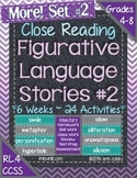 Figurative Language Stories SET 2! Close Reading for Commo