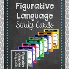Figurative Language Study Cards