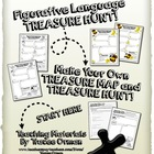 Figurative Language Treasure Hunt - Use With ANY Text