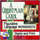 Figurative Language in A Christmas Carol Worksheet
