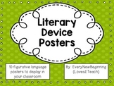 Figurative Language/Literary Devices Posters Freebie for You