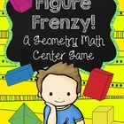 Figure Frenzy! Geometric Solids and Figures Game VA SOL 3.