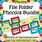 File Folder Phonics- Bundle