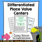 Fin-tastic Differentiated Place Value Centers