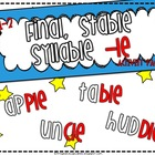 Final, Stable Syllable Activity Pack