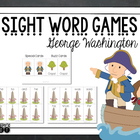 Find George Washington {Sight Word Game}