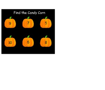 Find The Candy Corn