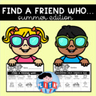 Find a friend who - summer edition