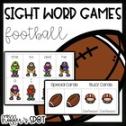 Find the Football {Sight Word Game}