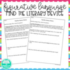 Find the Literary Device: Practice Identifying Literary De