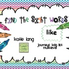 Find the Sight Words (Journeys K list)